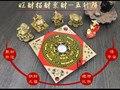 Herramienta maestra geomantica Asia oficina en casa eficiente JIN MU SHUI HUO TU casa de la ciudad dinero dibujo 8 diagrama FENG SHUI LUO PAN ZHEN