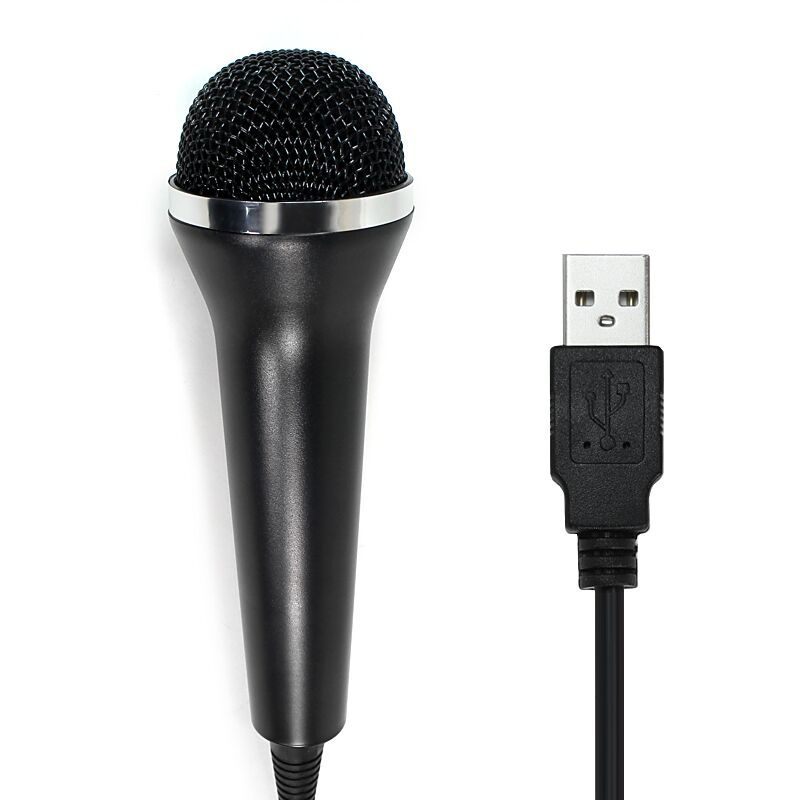 Game accessories Microphone for Playstation 4 Playstation 3, Xbox 360 and Wii U - Xbox One, for Rock Band 4 and <font><b>Guitar</b></font> Hero Live image