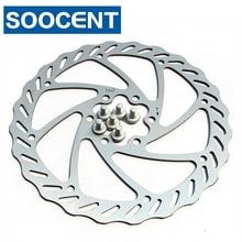 Mountain bicycle line mechanical brake disc/Disc brake Rotor/disc: 160 mm 6 hole type (diagonal pitch 44 mm) Screw (silver)