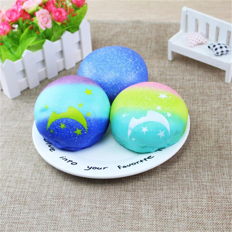 New Simulated Moon Squishy Slow Rising Cream Scented Fun Novelty Funny Gadgets Interesting Toys Stress Relief Squeeze Toy Gift20