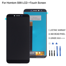 For HOMTOM S99 LCD Display Touch Screen Digitizer Original Quality Phone Parts For HOMTOM S99 Display Screen LCD цена