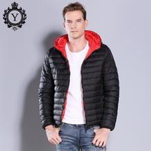 2018 New COUTUDI Winter Jacket Men Casual Puffer Jacket Slim Thick Warm Men's Hooded Outwear Coats Jackets Cotton Padded Parkas