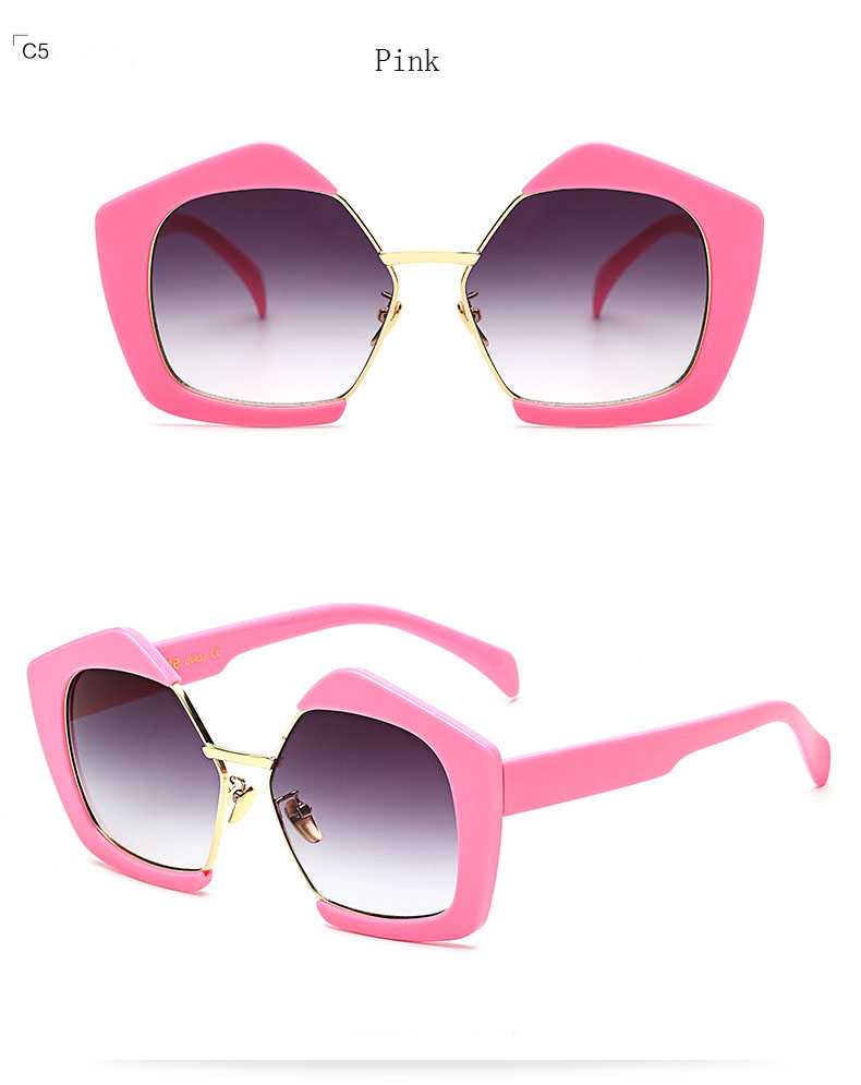 HTB1UMoXPpXXXXczXpXXq6xXFXXX2 - 2017 New Sunglasses Women Brand Designer Semi-Rimless Cat Eye Fashion Sun Glasses for Ladies Pink Oculos De Female Gafas