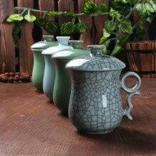 Longquan celadon Creative Ceramics Personal teacup Kitchen office utensils