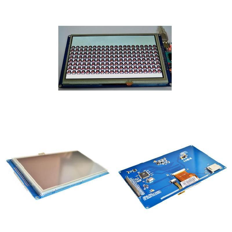 7 pouces TFT LCD tactile panneau 800*480 Module d'affichage SSD1963 nk-shopping