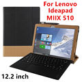 Case Для Lenovo Ideapad Miix 510 Защитные Смарт обложка Искусственного Кожаный Планшет Для MIIX5 PU Protector MIIX510 Рукавом Case Cover