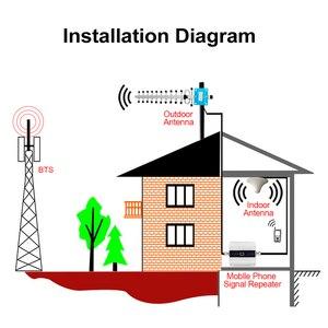 Image 4 - 液晶lte umts 850 mhz gsm cdma 2グラム3グラム4グラムワイヤレスセルラーリピータ850携帯電話リピータ信号ブースターアンプ