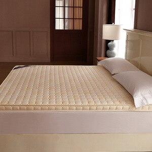 Image 2 - Luxury 100% Cotton Quilted Mattress filled massage thicken 7cm memory foam mattress