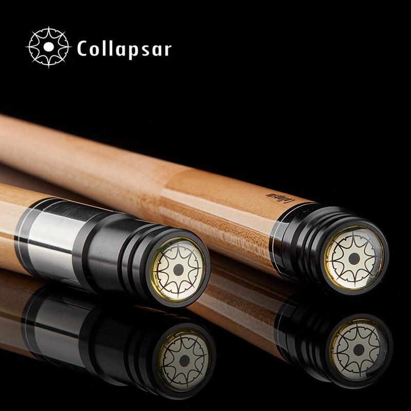 Collapsar CA 1/2 split billiard Pool cue nueve Bola brazo 147 cm billar Palos Arce eje 19 oz envío libre - 5