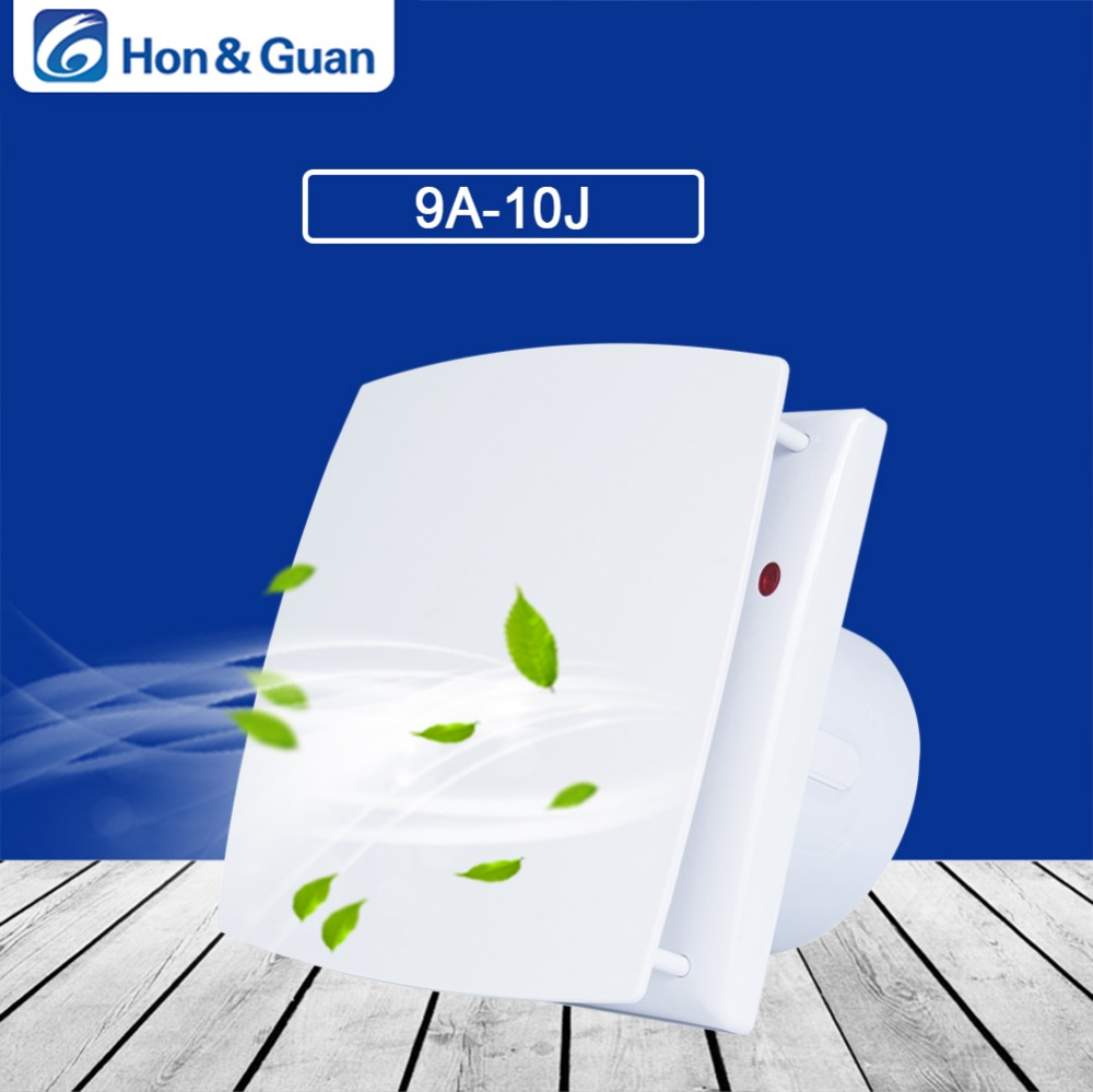 Ventilation-Fans Wall-Mount Bathroom Low-Noise Strong Kitchen Home Hon 10W Guan