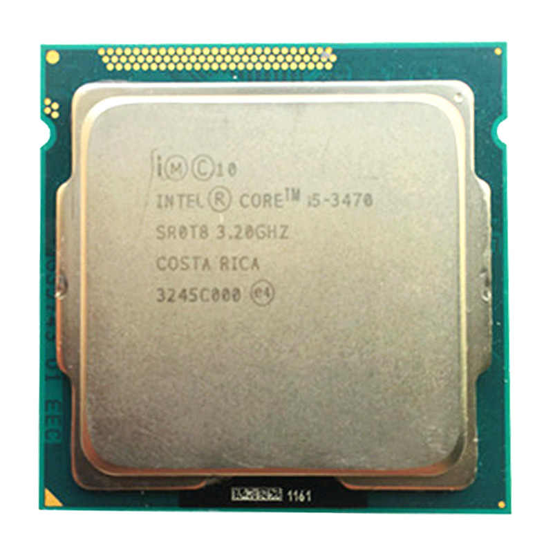 intel quad core core i5 3470  LGA 1155 socket 3.2Ghz use H61 H67 Z77 Z68 H77 motherboard ,have i5  i5 3550 /i5 3570 cpu sale