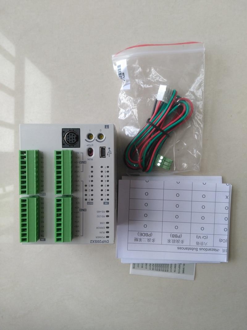 все цены на  New Original DVP20SX211T Delta PLC SX2 series 24VDC 8DI 6DO (Transistor NPN) 4AI/2AO  онлайн