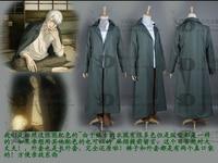 Mushishi Ginko cloak cosplay costume unisex