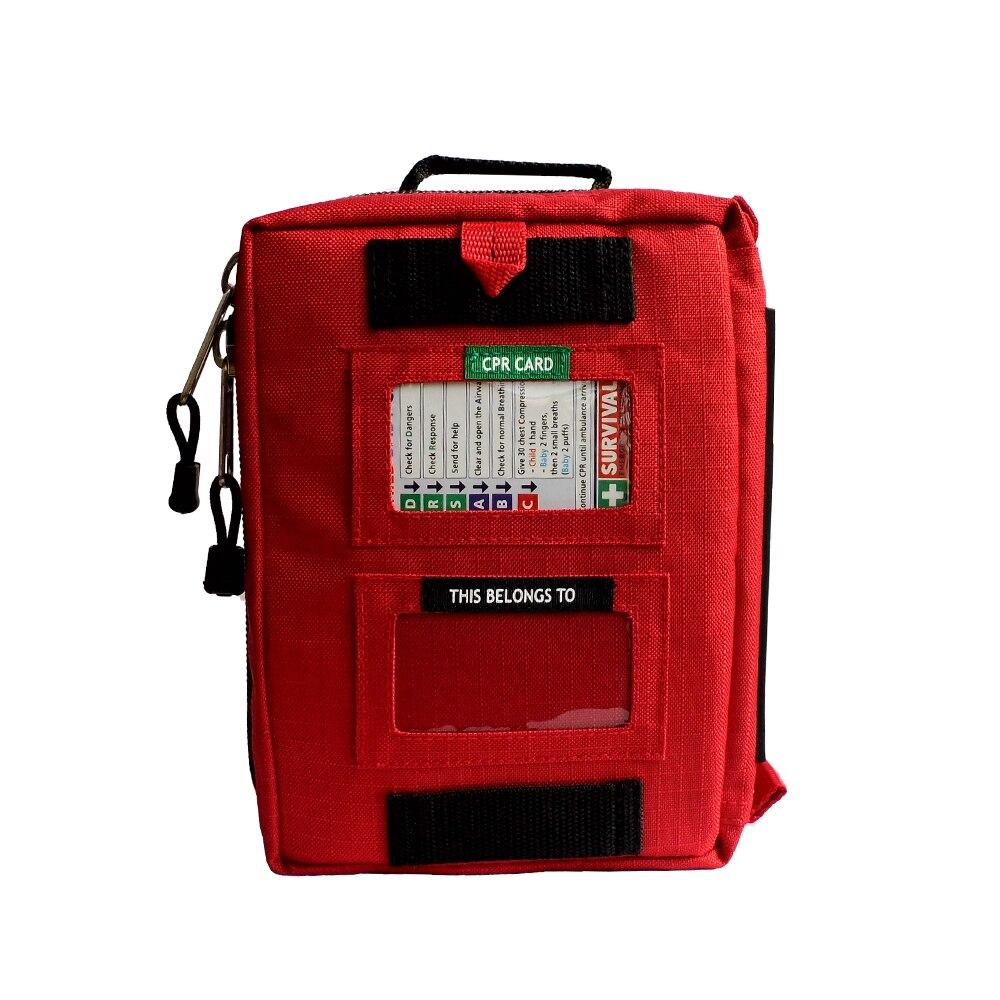 Haute qualité moyen vide ménage multi-couche trousse de premiers soins en plein air sac de voiture sac de premiers soins survie Medine voyage sac de sauvetage - 3