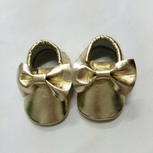 New Soft Kids Baby Shoes PU Leather Moccasins Bottom Child Boys Girls First Walkers Fringe Infant Toddler S4-42