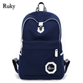 Hot Sell 2016 new arrival Students Backpack Men's laptop bag fashion Casual Canvas school bag for teenagers Travel backpacks
