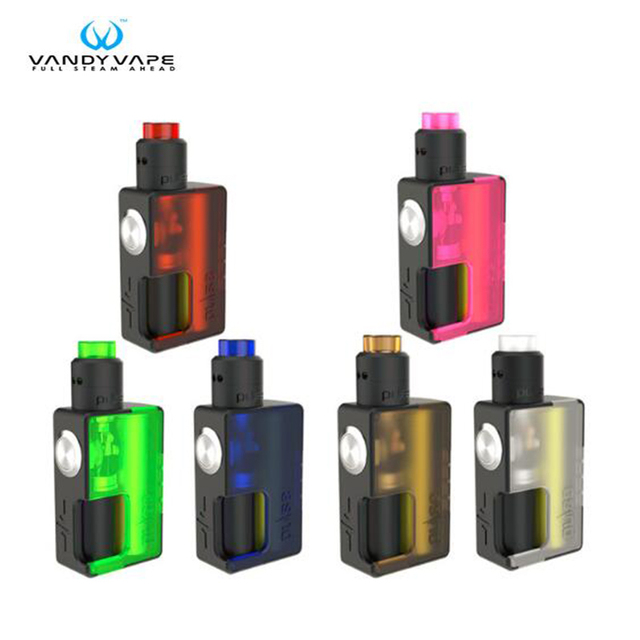 US $50 99 25% OFF|Original Vandy Vape PULSE BF Kit Pulse BF BOX MOD with  8ml Squonk Bottle Pulse BF 24 RDA E Cigarette Clearance-in Electronic
