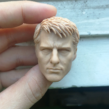 1/6 Tom Cruise Unpainted Head Sculpt for 12''Male Bodies tom cruise