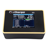 I charger X8 1100 W 30A DC ЖК экран умный аккумулятор баланс зарядное устройство Dis зарядное устройство для 1 8 s LiPo/Lilo/LiFe/LiHV батарея RC Дрон