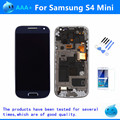 For Samsung Galaxy S4 mini I9190 i9192 i9195 LCD Display Touch Screen + Frame Assembly Black/White/Blue Replacement LCD