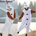 Women Men SAZAC Winter Adult Animal Frozen Snowman Christmas Pajamas Onesies Olaf Cosplay Costumes Sleepwear Pyjamas