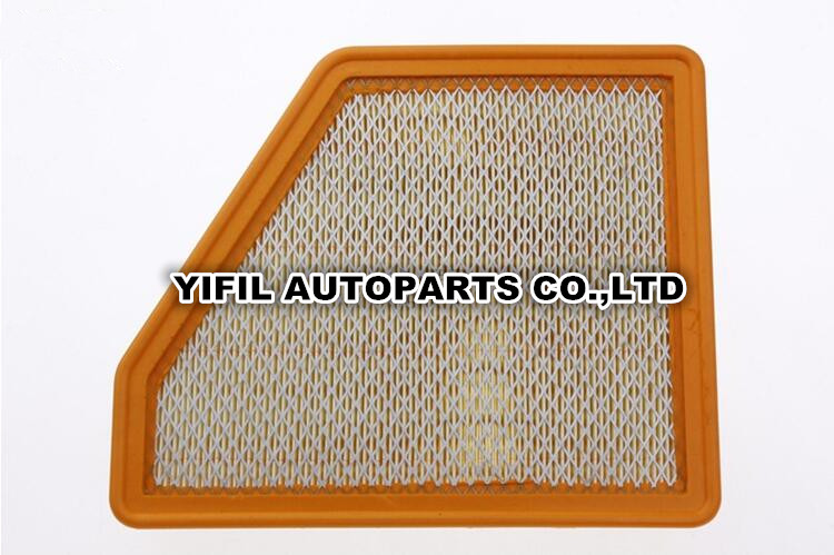 Hornet chevrolet Camaro V6 V8 2011 Objective Auto Air Filter 92196275 For Chevrolet Camaro 3.6l 6.2l