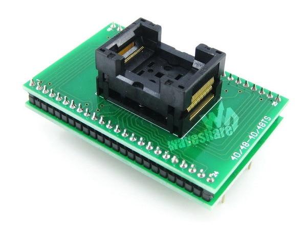 ФОТО module TSOP48 TO DIP48 (A) TSSOP48 Yamaichi IC Test Socket Programming Adapter 0.5mm Pitch