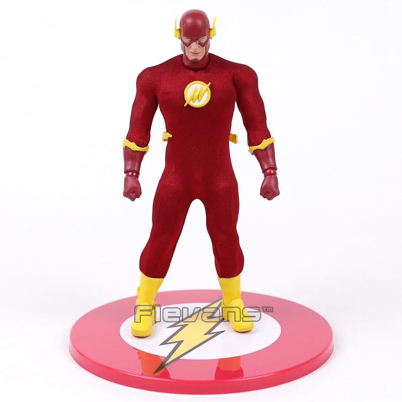 MEZCO DC COMICS The Flash 1/12 Scale PVC Action Figure Collectible Model Toy 16cm