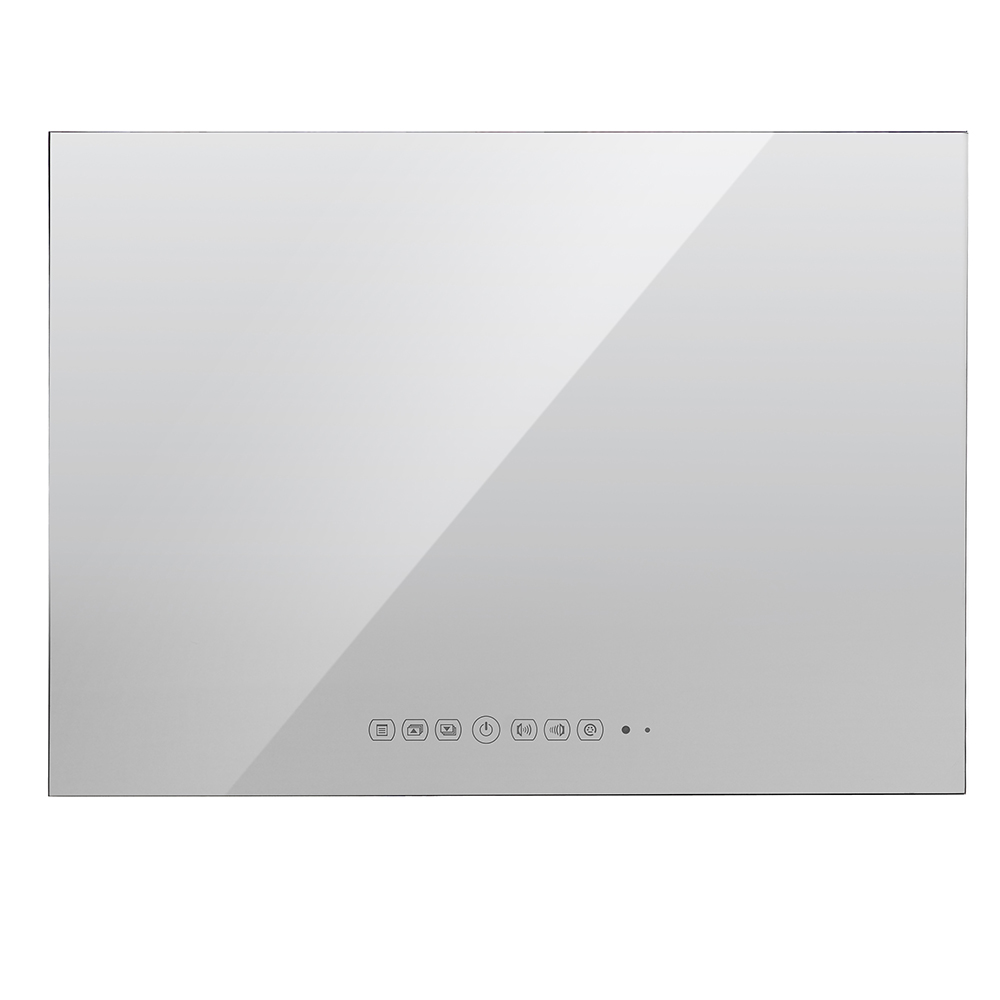 Souria 22 inch IP66 Magic Mirror TV Frameless Vanishing Hotel - Home audio en video - Foto 2