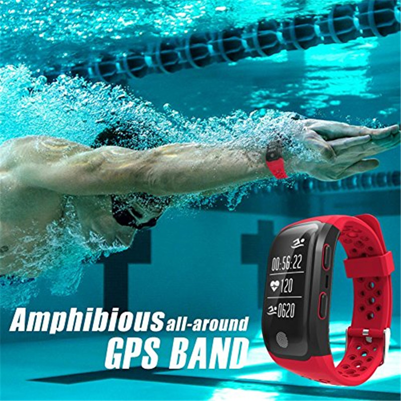Купить с кэшбэком Smartwatch GPS Bluetooth IP68 Waterproof Wristband Sports Models Heart Rate Monitor for Android IOS for xiaomi watch men women