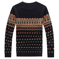 Spring Autumn Winter Men's Knitted Sweater Men O-Neck Casual Sweater Men Cardigan Plus Size 4XL 5XL