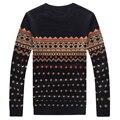 Primavera Outono Homens Camisola de Malha O-pescoço Camisola Ocasional dos homens de Inverno Homens Cardigan Plus Size 4XL 5XL
