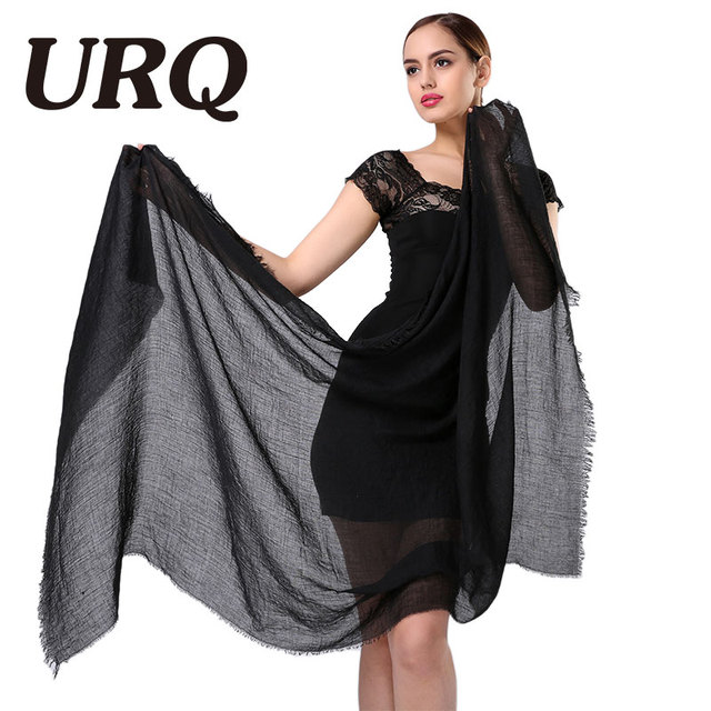 China style plain tassel scarfs hijab warm winter scarf red plain cotton cape fashionable warm scarves lady women shawl 2016