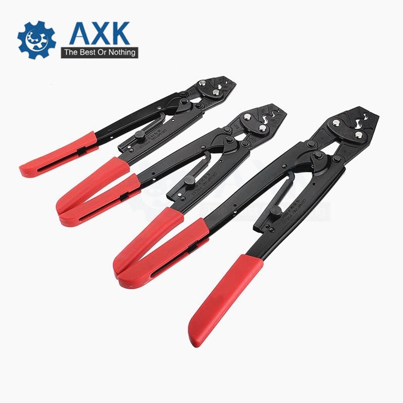 Ratchet Crimping Pliers Wire Rope Cutter Terminals Cable Lug Crimper Tools 2-10 6-16 Square Millimeter Cutting Hand ToolRatchet Crimping Pliers Wire Rope Cutter Terminals Cable Lug Crimper Tools 2-10 6-16 Square Millimeter Cutting Hand Tool