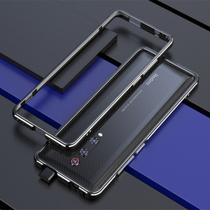 Image 5 - Voor Xiao mi rode Mi K20 pro CASE Metalen Frame Dubbele Kleur Alu Mi Num bumper bescherm Cover Voor Xiao mi rode Mi K20 mi 9 t pro case