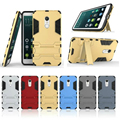 For Xiaomi Red 4 Note4 Phone Cases Iron Man Robot Armor Protection Shell Case for Xiomi Mi4 M4 2 In 1 Combo Cover with Stand