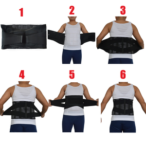 Image 3 - New Elastic Adjustable Orthopedic Posture Corrector Brace Lower Back Waist Trimmer Belt Lumbar Support Belt Corset for Men Women