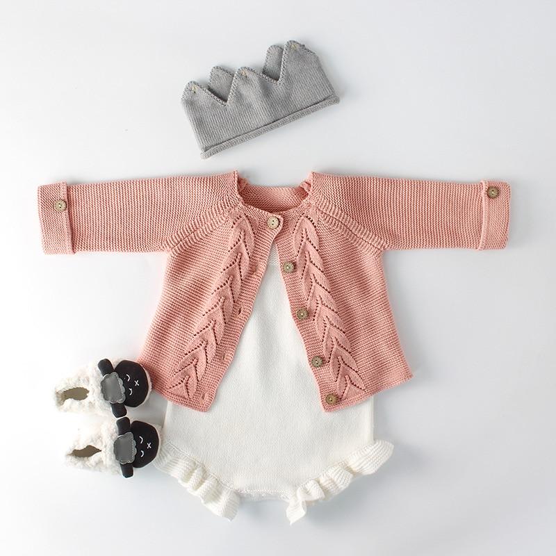 Baby Mädchen Pullover Kind Junge Pullover Strickjacke Jacke Für Mädchen Gestrickte Top Kinder Kinder Kleidung 2019