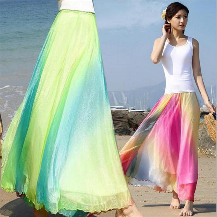 Popular Multi Color Maxi Skirt-Buy Cheap Multi Color Maxi Skirt ...
