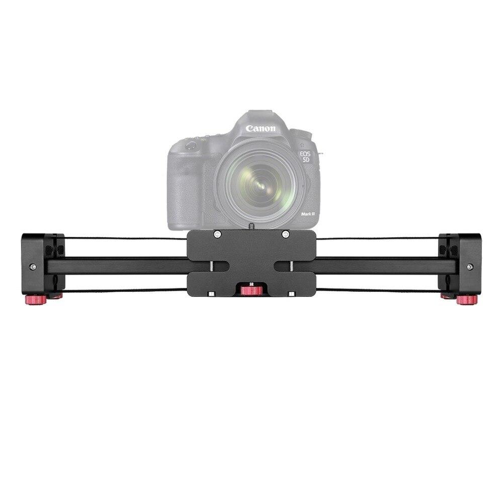Universel DSLR Portable bureau 36 cm/80 cm glissière Rail support trépied pour appareils photo reflex caméras vidéo