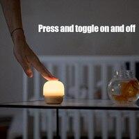 Kleine Pilz Log Baby Schlaf Nacht Licht LED USB Mini Warme Licht TSH Shop|LED-Nachtlichter|   -