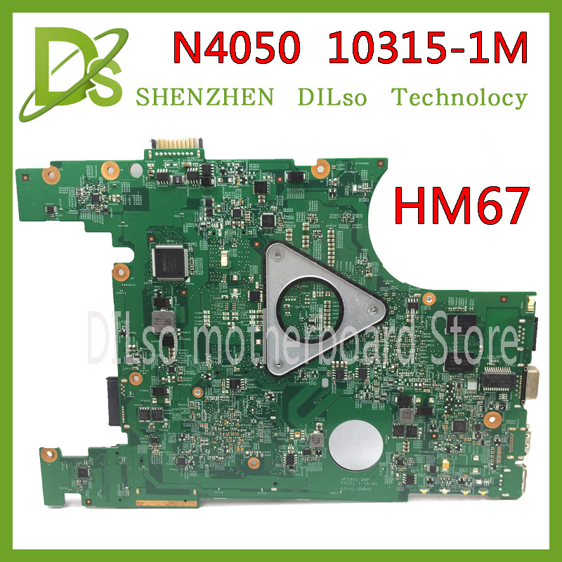 KEFU 10315-1M motherboard for dell inspiron 14 N4050 laptop motherboard HM67 original Test motherboard original laptop motherboard for da0zhrmb6c0 100