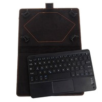 Bluetooth Wireless Keyboard Cover Case With Touchpad For 8 To 8 9 Inch Tablet PC