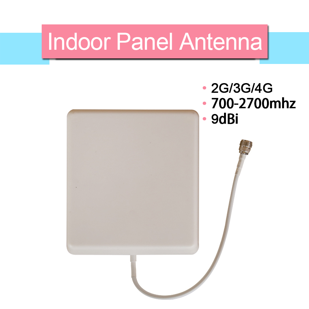 9dBi 700mhz-2700hz 2G 3G 4G LTE Mobile Phone Antenna N Type Gain Indoor Panel Internal Cellphone Antenna For Signal Booster
