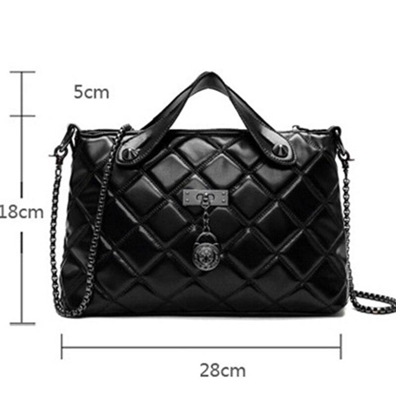 para mulheres bolsas preto clipe Color : Black