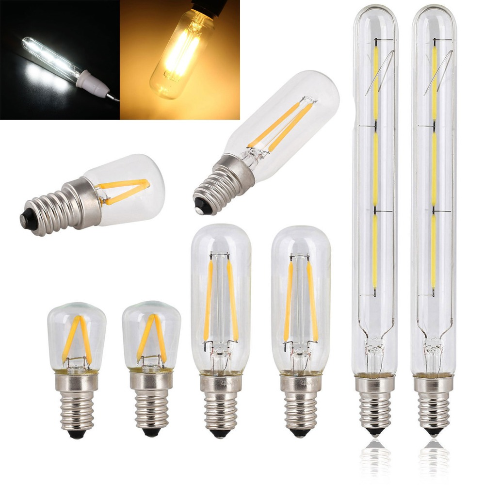 E14 Antique Retro Edision Led Bulb 2W 3W 4W T20 T25 Vintage Led Incandescent Lamp 220v Warm White Light Glass Filament Lamp