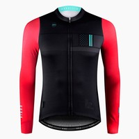 New 2018 Pro Team thermal fleece Long Sleeve cycling Jersey race tight fit bicycle Jacket winter Maillot Ciclismo invierno