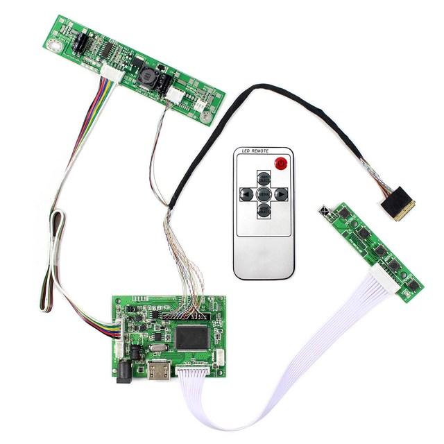 VS TY2660H V1 17 인치 LCD 화면 용 1920x1200 해상도 LTN170CT10 LP171WU6 HD MI LCD 컨트롤러 보드