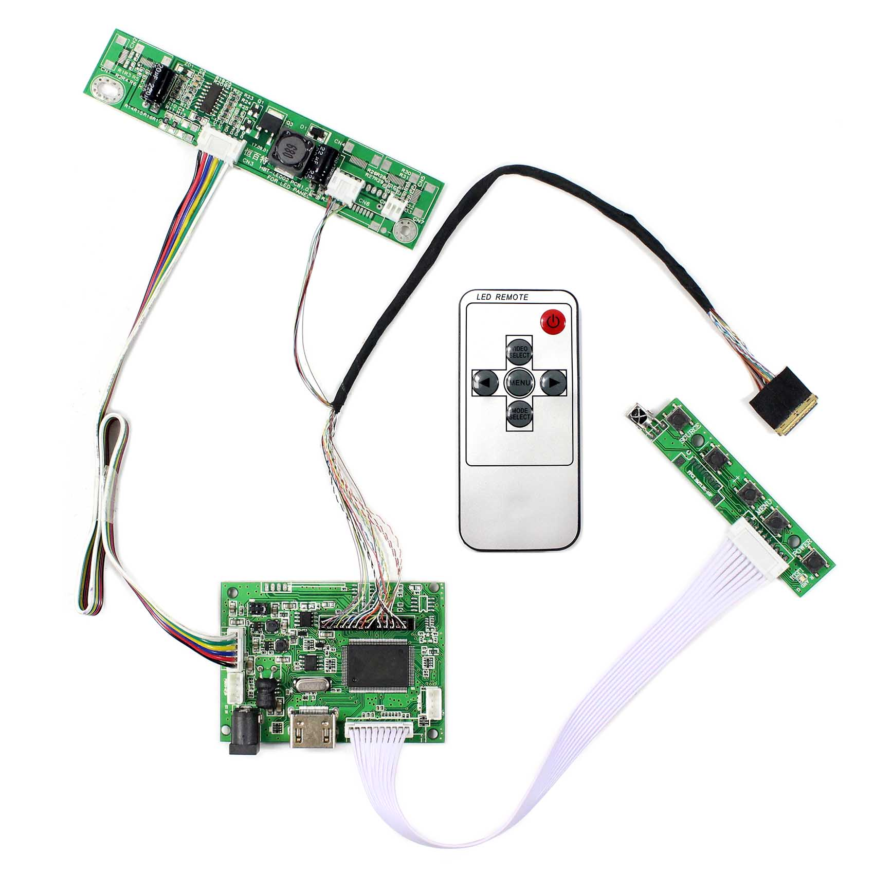VS-TY2660H-V1 1920x1200 Resolution For 17inch LCD Screen LTN170CT10 LP171WU6 HDMI LCD Controller Board