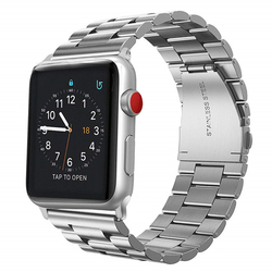 Band for Apple Watch Series 4 44mm 40mm Stainless Steel Watchbands Replacement Wrist Bracelet Strap for iWatch 3/2/1 Watchstrap